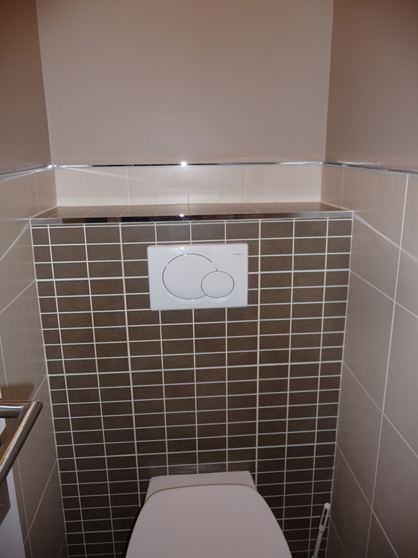 pose wc suspendu simple salle de bain avec wc suspendu douche l italienne gerard gounon with. Black Bedroom Furniture Sets. Home Design Ideas